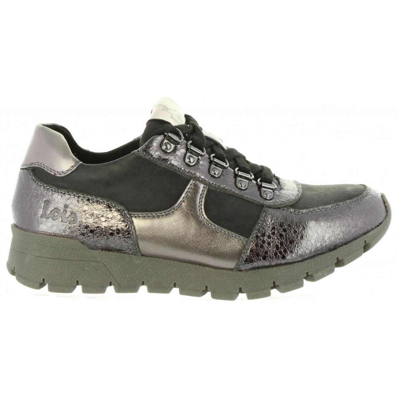 Zapatillas Deporte de Mujer LOIS JEANS 85234 300 Silver: Amazon.es: Zapatos y complementos