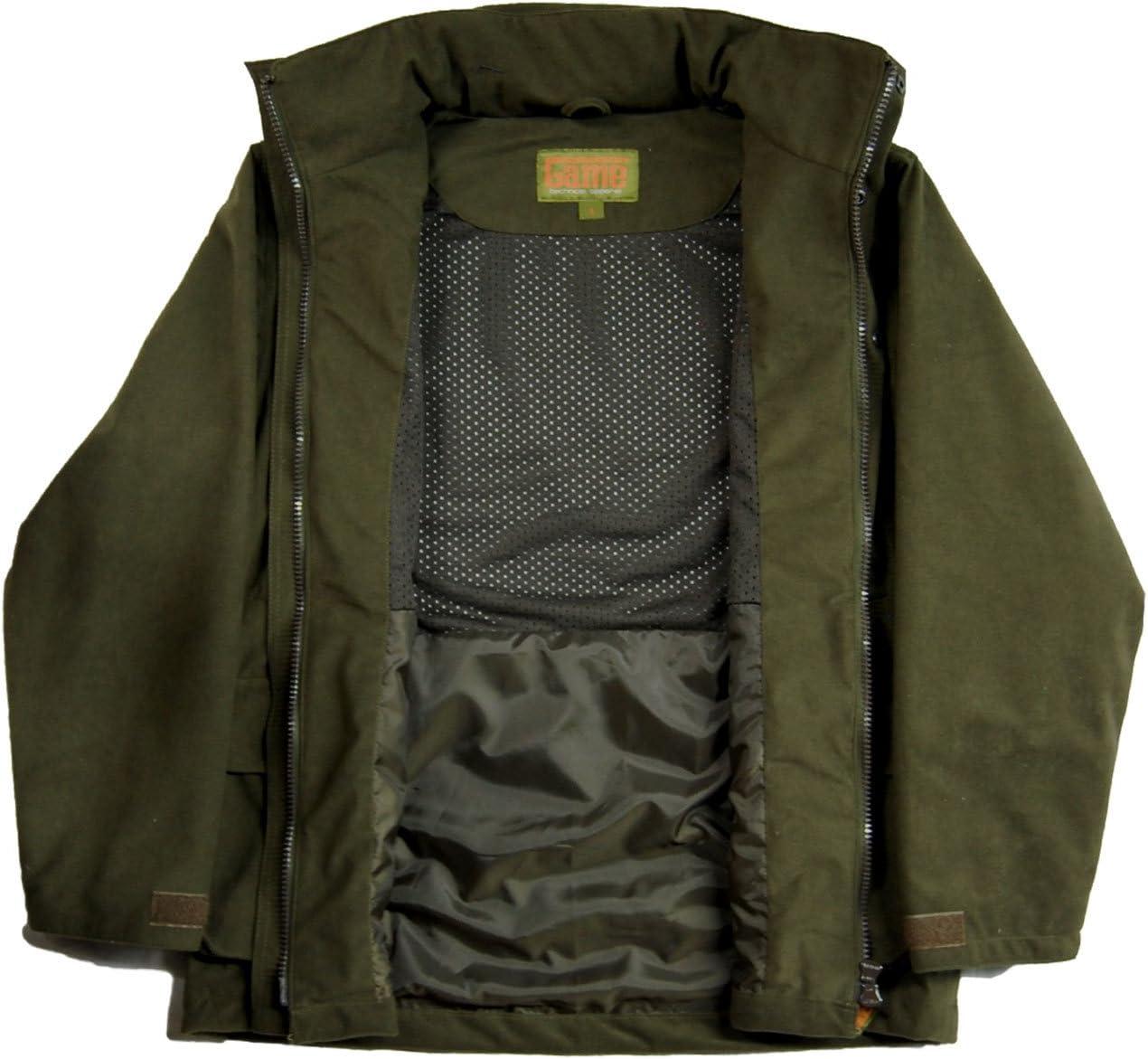 Game Technical Apparel Mens EN207 Hunters Stealth Waterproof Jacket with Concealed Hood