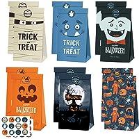 Halloween tas 10 Pcs geschenkzakjes Met stickers Tassen Halloween Cadeautassen voor kinderen Halloween…