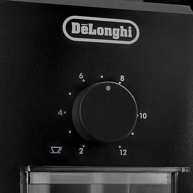 DeLonghi KG79 colore Macinacaff/è da 12 tazze Nero