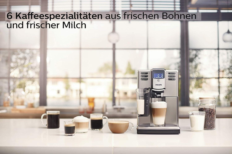 6 Kaffeespezialitäten vom Philips LatteGo