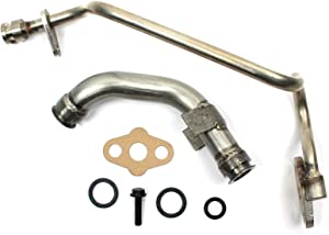 6.0L Diesel Updated Turbo Feed line and drain Tube fits Ford/International