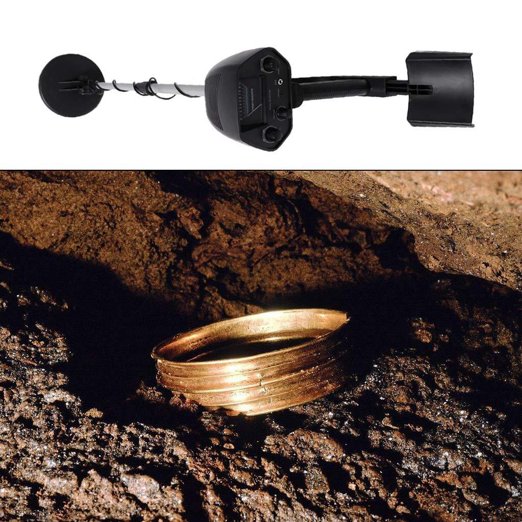 Dabixx MD-4030 Detector de Metales Subterráneo Gold Finder Longitud Cazador de Tesoros Ajustable: Amazon.es: Hogar