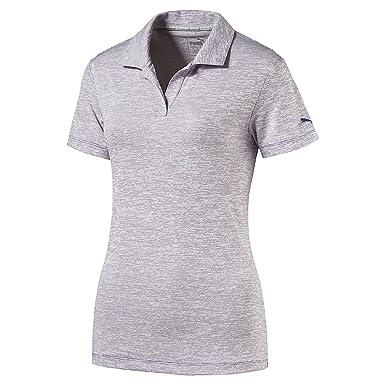 Puma Golf para Mujer W Espacio Dye Polo, Mujer, Morado: Amazon.es ...