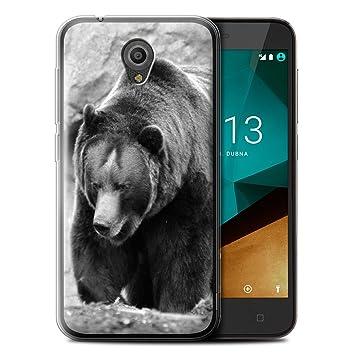 Stuff4® Carcasa/Funda TPU/Gel para el Vodafone Smart ...