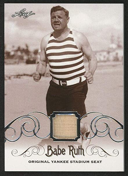 online store 97aca ae164 Amazon.com: Babe Ruth 2016 Leaf #ys-55 Original Yankee ...