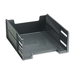 RUB17671 - Rubbermaid Stackable Front-Loading Letter Tray