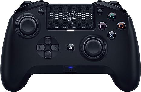 Image ofRazer Raiju Tournament Edition 2019 Controlador de juegos inalámbrico y con cable para PC PS4 + controlador Bluetooth con cable e inalámbrico, teclas de acción Mecha-Tactile, Negro