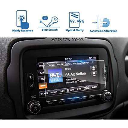 Amazon Com Lfotpp 2015 2018 Jeep Renegade Uconnect 6 5 Inch Car