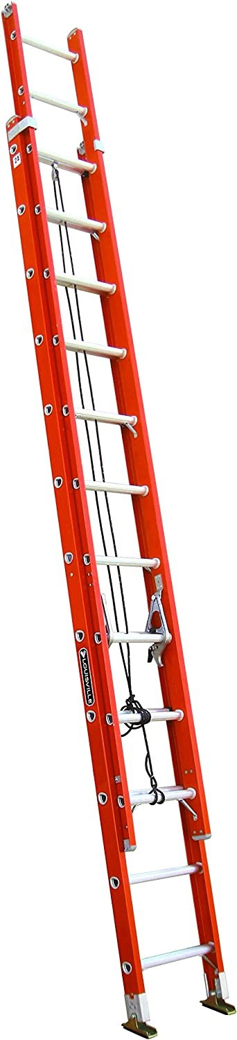 10. Louisville Ladder 24-Foot Extension FE3224 300-Pound Capacity