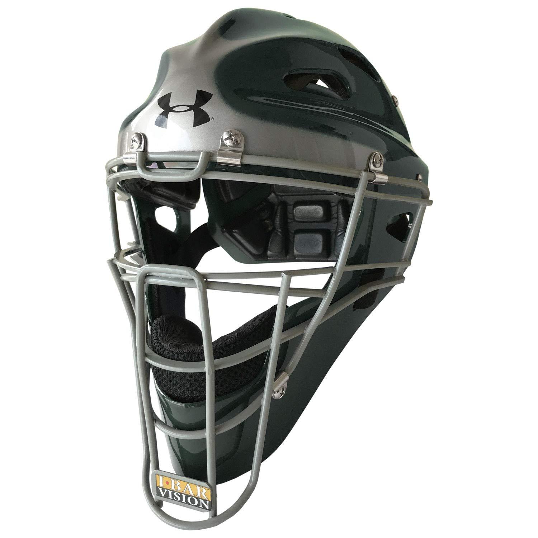 Under Armour Youth 2-Tone Baseball/Softball Catcher's Helmet by Under Armour