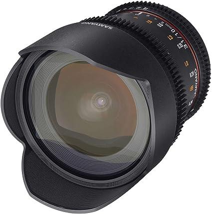 Samyang F1322507101 - Objetivo para vídeo VDSLR para Olympus 4/3 ...