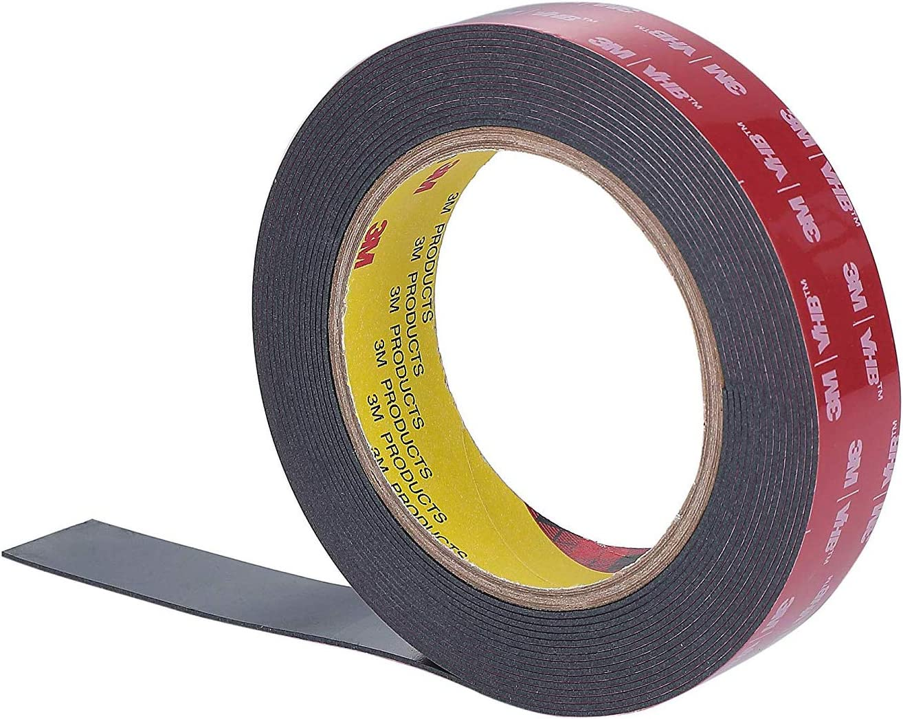 CANOPUS 0.94 Inch by 9 Feet, 3M VHB Double Sided Tape, Heavy Duty Mounting, Adhesive Waterproof Tape