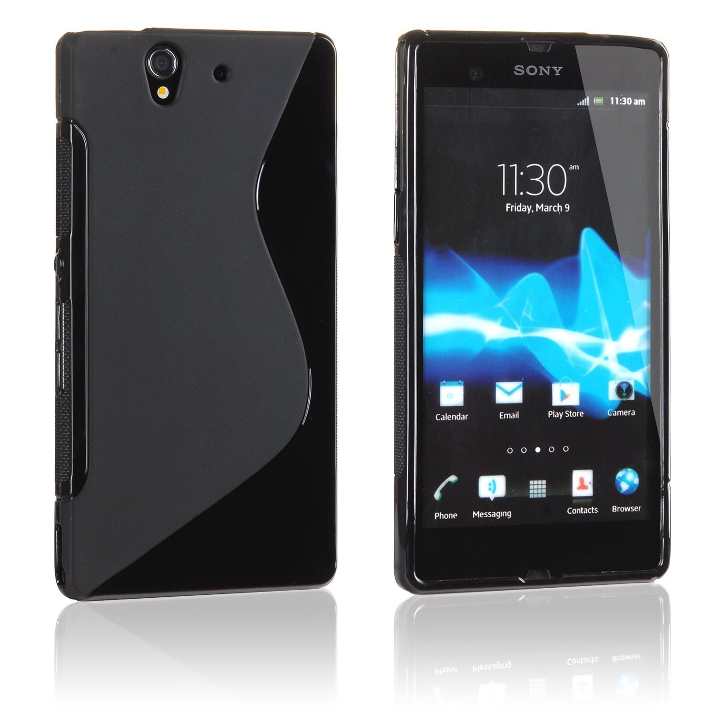 Amazon: XPERIA Z ソフトデザインケース do o SO 02E Sony エクスぺリアZ 対応 Outdoor Style S Design TPU Cover Case ソフト゠バー Black ホーム&