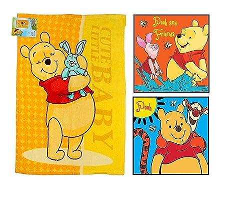 Disney Winnie The Pooh Juego de Toallas de Mano (3 Pack): 1 x