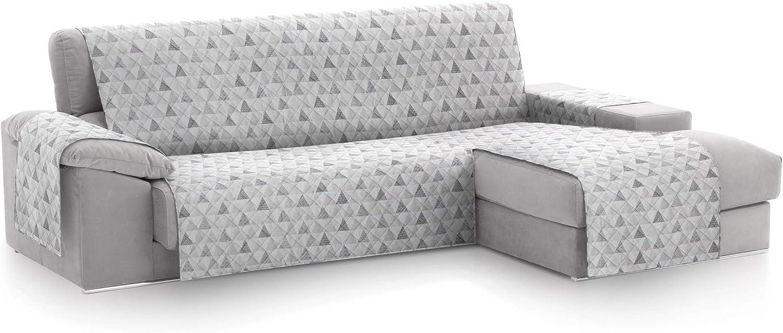 textil-home Funda Cubre Sofá Chaise Longue Malu, Protector ...