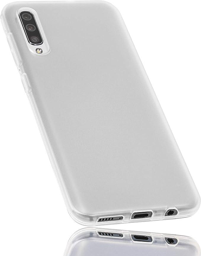 mumbi Funda Compatible con Samsung Galaxy A50 Caja del teléfono móvil, Blanco Transparente: Amazon.es: Electrónica