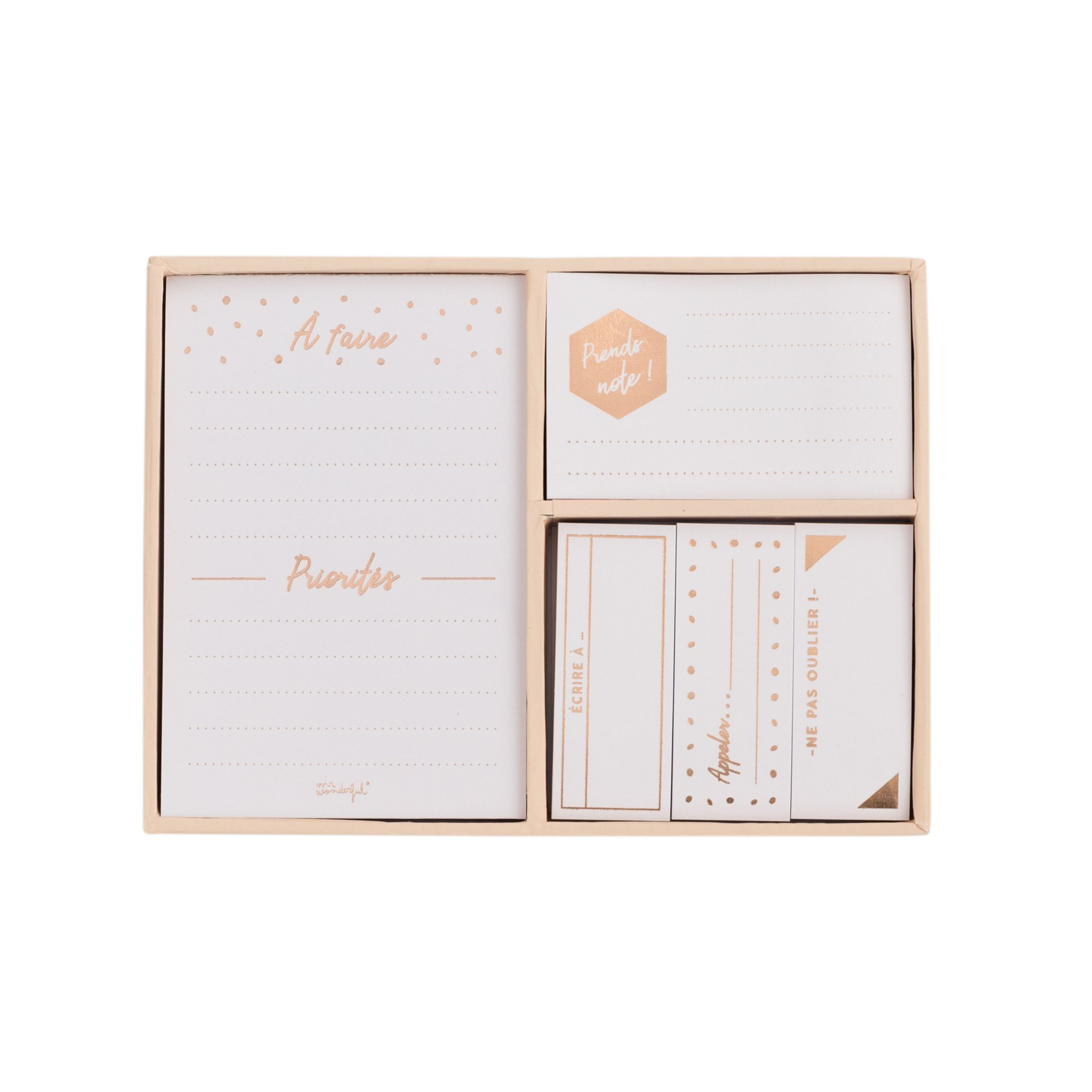 Mr. Wonderful woa08852fr Notebook Set in Copper Collection