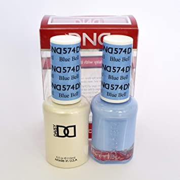 Amazon Com Dnd Gel Matching Polish Set 574 Blue Bell Buy 5