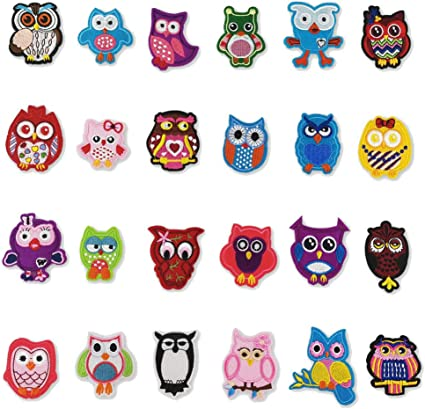 1 pics Animal embroidery and pasted on children clothes patch DIY patching