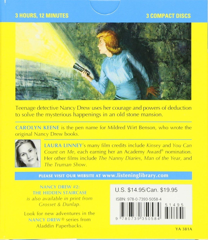 The Hidden Staircase (Nancy Drew, Book 2): Carolyn Keene, Laura Linney:  9780739350584: Amazon.com: Books