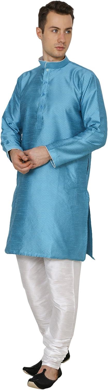 Royal Kurta Mens Silk Blend Kurta Pyjama Set