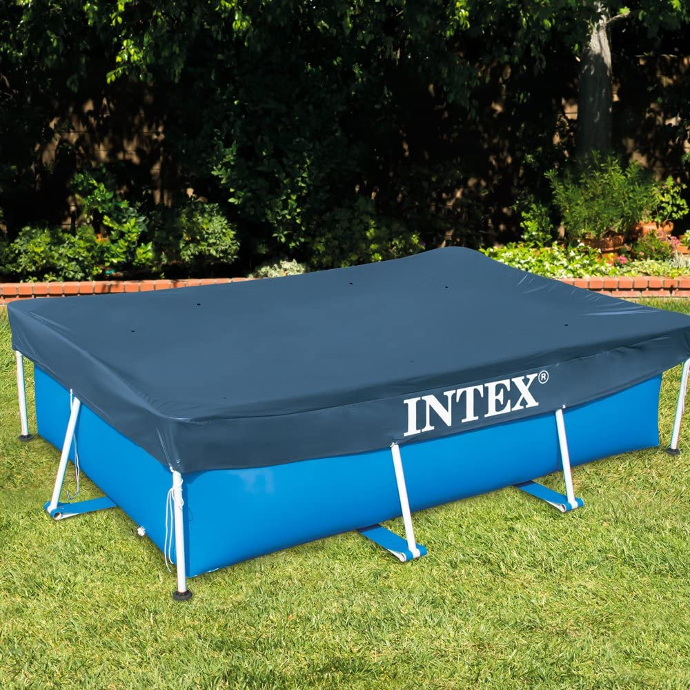 Intex 28039 - Cobertor piscina rectangular Prisma/small frame 460 x 226 cm: Amazon.es: Jardín