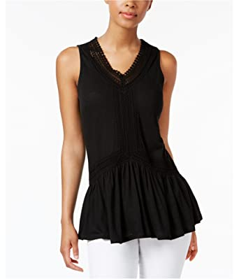 3709106442767 Cable   Gauge Womens Peplum Knit Blouse at Amazon Women s Clothing store