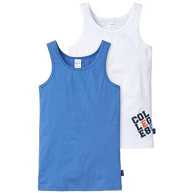 Schiesser Jungen Unterhemd 2erPack