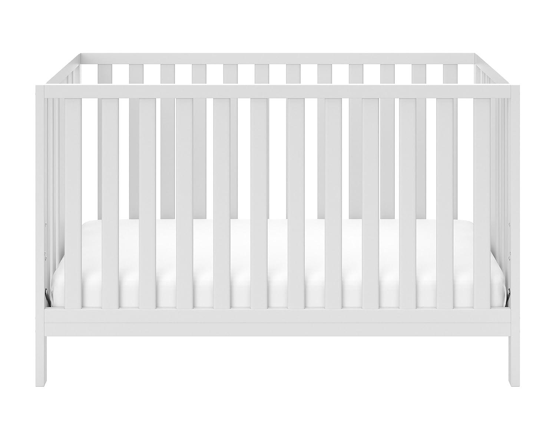 Storkcraft Pacific Convertible Crib, White 04522-201