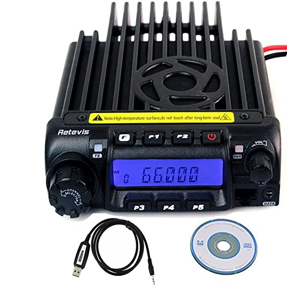 Amazon com: Retevis RT-9000D VHF Mobile Transceiver 66-88MHz