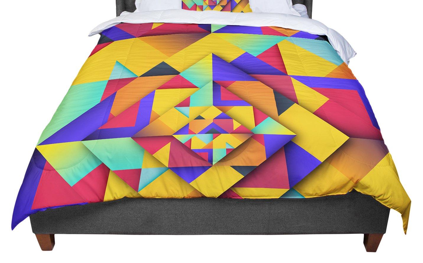 KESS InHouse Danny Ivan 'Shapes II' Geometric King / Cal King Comforter, 104' X 88'