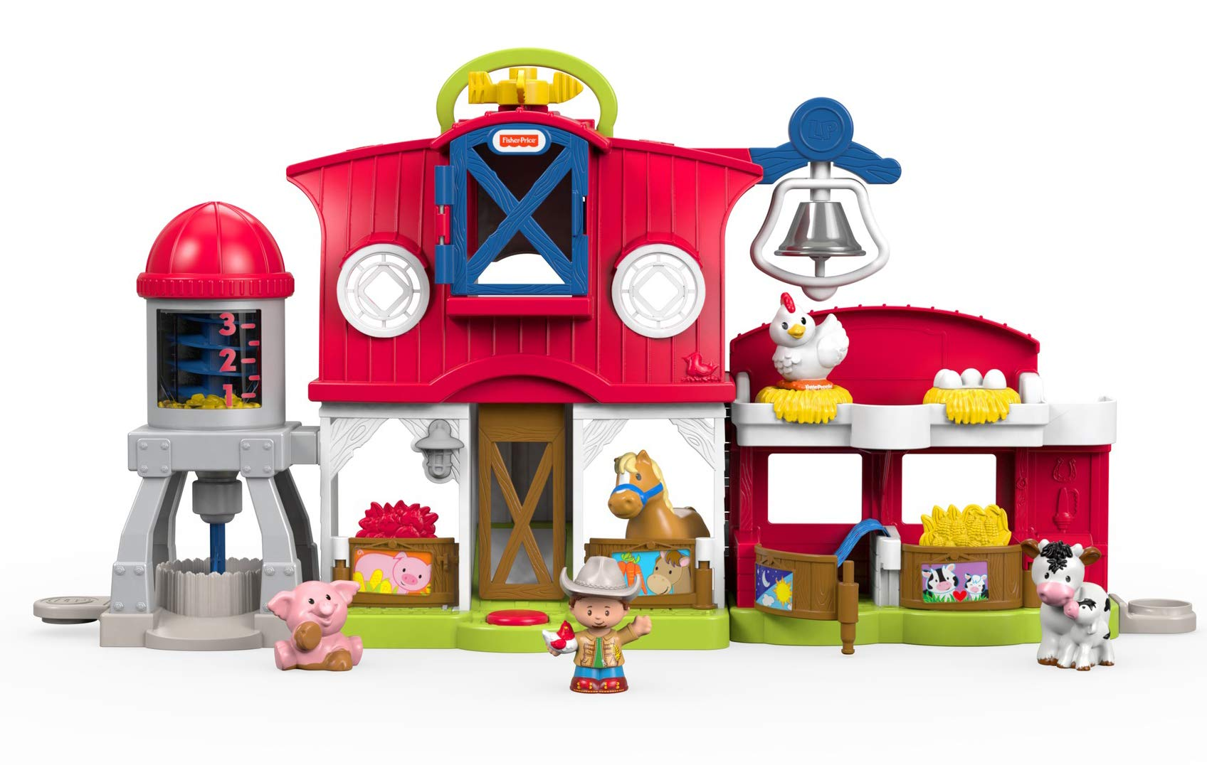 Fisher-Price Little People Caring for Animals Farm Playset by Fisher-Price