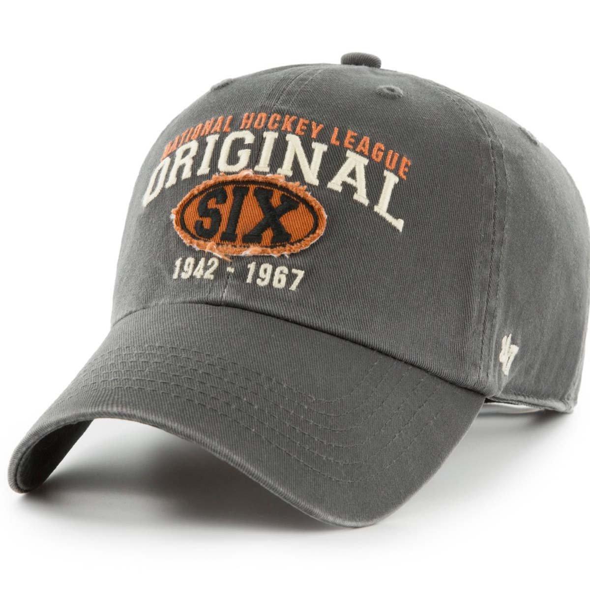 47 Brand Adjustable Cap Henrick Original Six Charcoal