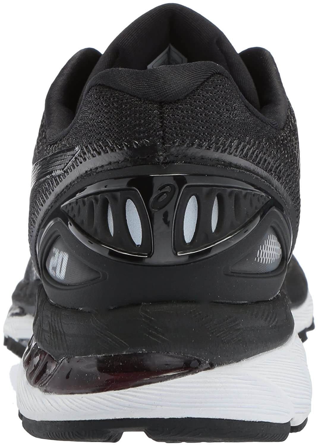 ASICS Women's Gel-Nimbus 20 Running Shoe B071HV11JL 11 B(M) US|Black/White/Carbon