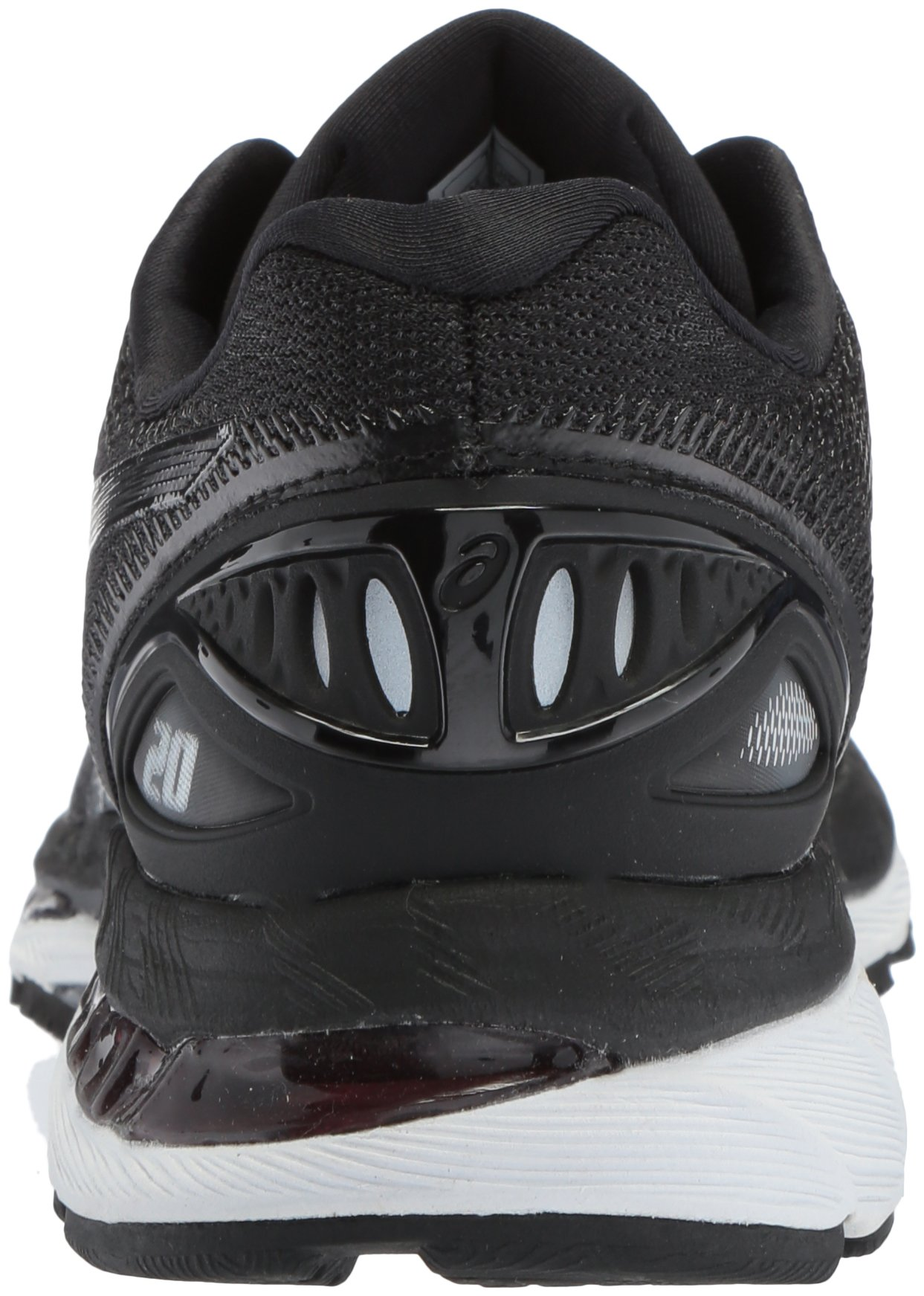 ASICS Women's Gel-Nimbus 20 Running Shoe, black/white/carbon, 5 Medium US by ASICS (Image #2)