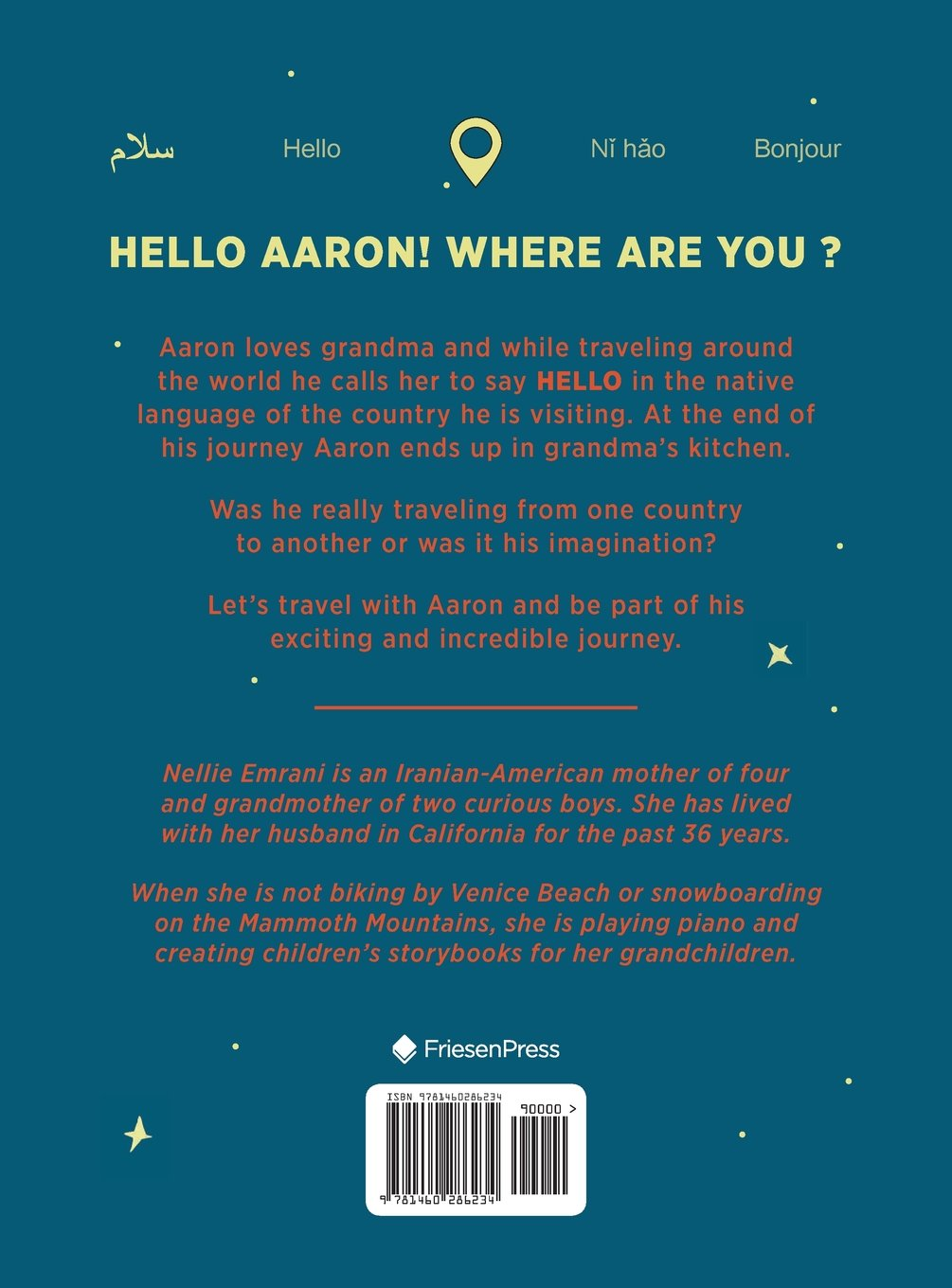 Hello Aaron! Where are you?