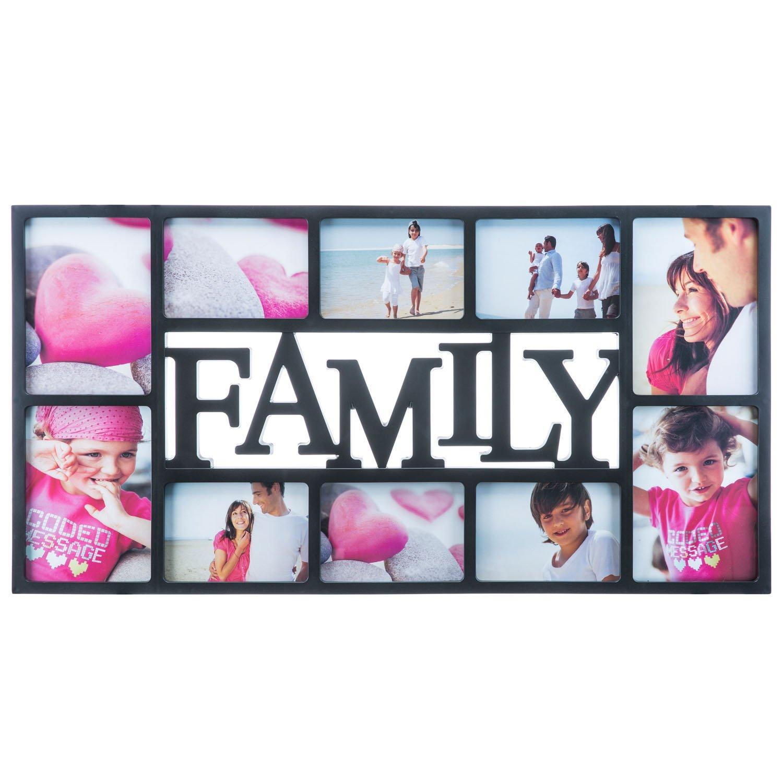 Amazon.de: Goods & Gadgets Bilderrahmen Family XXL - Fotorahmen ...