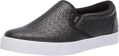 Amazon Com Puma Women S Tustin Slip On Golf Shoes Loafers Slip Ons