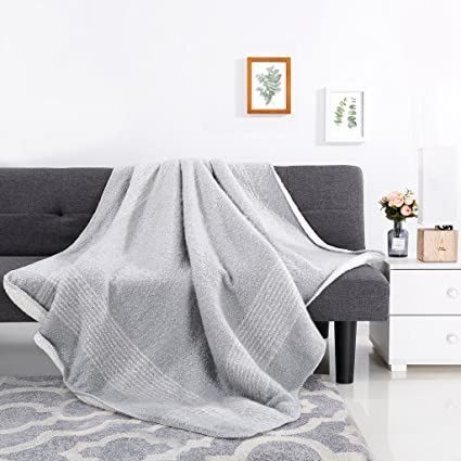 Throw Blankets Fascinating Amazon LANGRIA Soft Cozy Throw Blanket For Sleeping All Season
