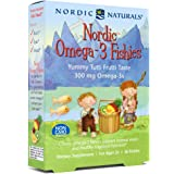 Nordic Naturals - Nordic Omega-3 Fishies, Supports Optimal Brain and Immune Function, 36 Count