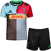 adidas HARLEQUINS 2015/16Kids Home de Rugby Kit