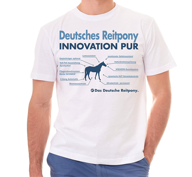 Siviwonder Unisex T-Shirt INNOVATION - DEUTSCHES REITPONY Pony - Pferde Fun  reiten: Amazon.de: Bekleidung