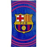 Officiell FC Barcelona (La Liga) Fotbollsvapen bad och strandhandduk (100 % bomull 70 cm x 140 cm)
