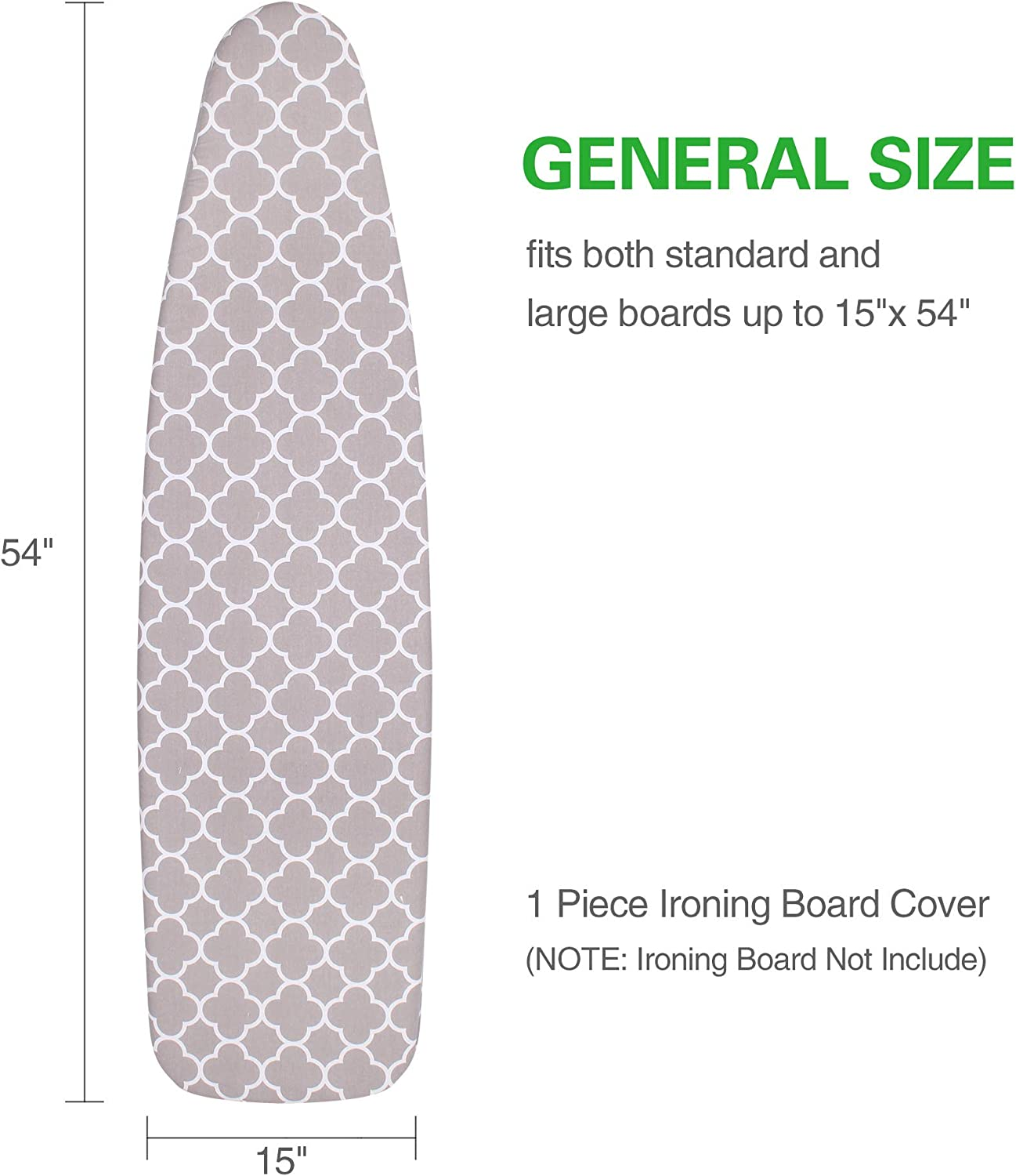 SUNKLOOF Scorch Resistance Ironing Board Cover