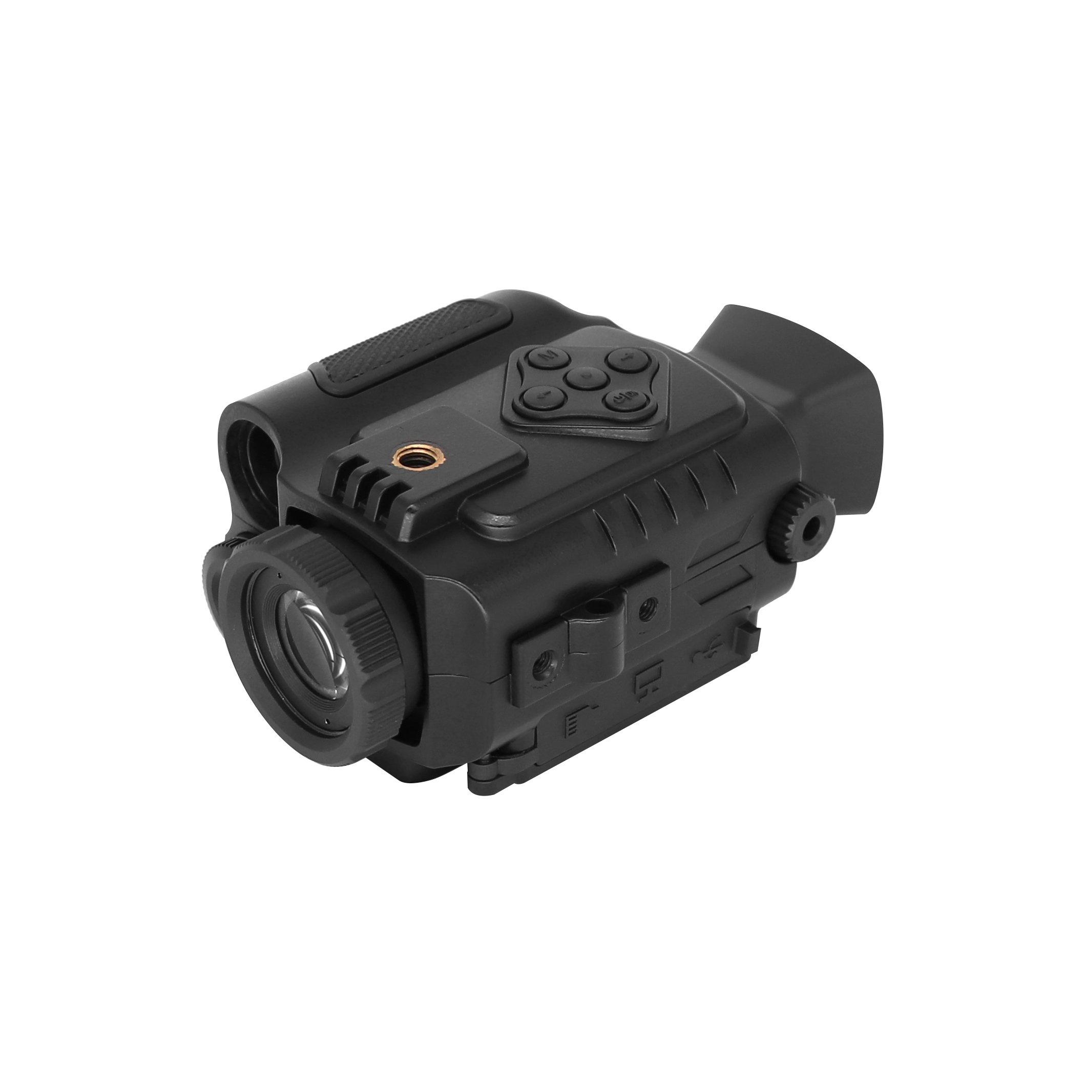 Bestguarder NV-600 Ultra Small 1-5X18mm Digital Infrared Night Vision Multi-Purpose Monocular/Scope, Black by Bestguarder