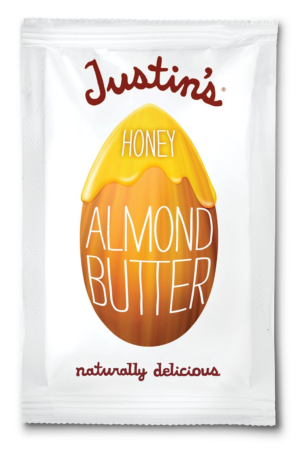 Justin's Almond Butter, Squeeze Packs, Honey, 1.15 Ounce, 10 Count