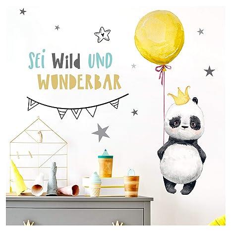Little Deco Kinderzimmer Wandtattoo Fuchs Spruch Fliege Zum Gluck I 87 X 50 Cm Bxh I Luftballons Wandbilder Deko Babyzimmer Junge Wandsticker Kinder Dl206 1 Baby Kinderzimmer