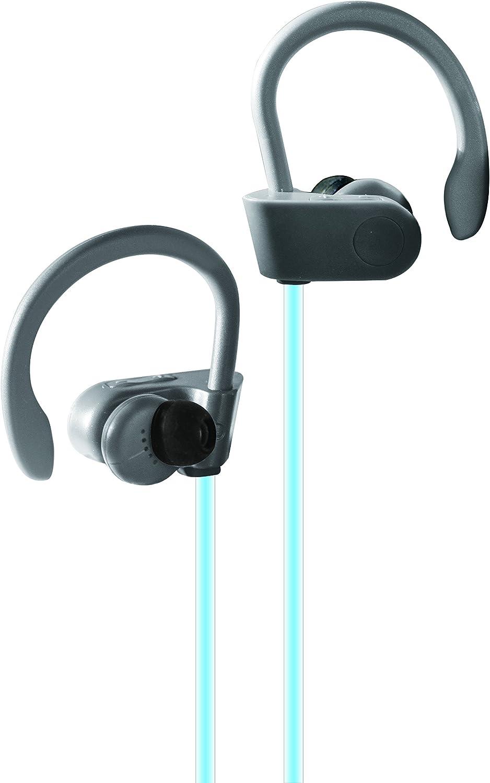 biconic Bluetooth inalámbrico Resistente al Sudor Auriculares de Gancho sobre Auriculares estéreo: Amazon.es: Electrónica