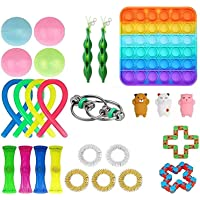 Sensory Fidget Toys ,26pcs Stress Relief and Anti-Anxiety Tools Bundle for Kids and Adults, Special Toys Assortment for…
